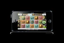 Plaatje van Gonzo's Quest mobiele gokkast spel op Touch